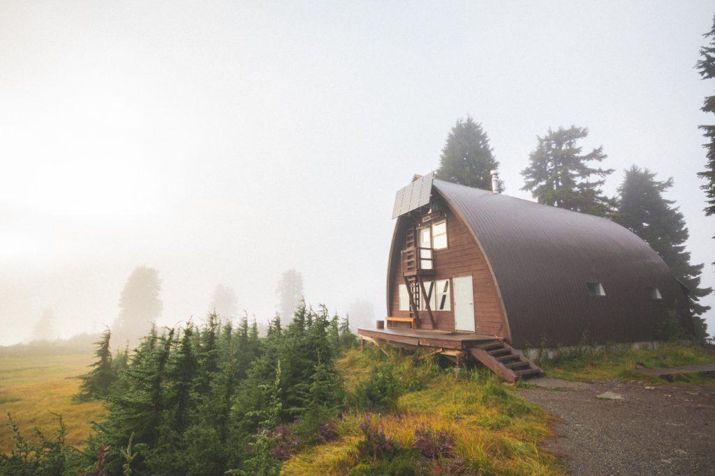 Elfin shelter in Garibaldi Provincial Park