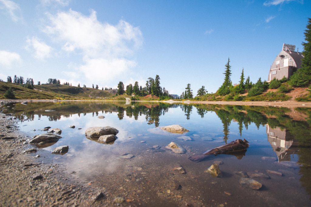 Reflections on Elfin Lakes